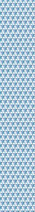 TenStickers. papéis de parede animados Papel de parede 3d de estrelas azuis. Um papel de parede de luxo 3d padronizado com impressões de formas geométricas texturizadas na cor azul. é adequado para sala de estar, escritório e outro espaço.