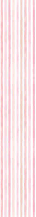 TenStickers. Pink watercolor vertical stripes wallpaper. Pink watercolor vertical stripes wallpaper that can be decorated on a living room, bedroom and even children's room. space.