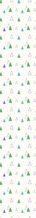 TenStickers. Winter Geometric triangle wallpaper. Decorative Geometric shape wallpaper design that could be a great wallpaper idea to decorate your kid's bedroom and other space.