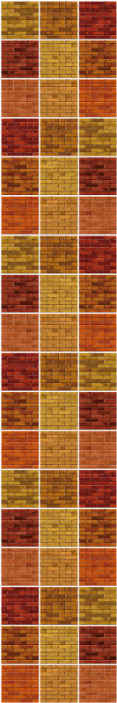 TenStickers. Multicolor brick texture effect wallpaper. Bring some live to any room in your house with this multicolor brick effect texture wallpaper. It is original, durable and easy to apply.