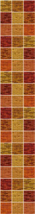 TenStickers. Carta da parati effetto mattoni Trama di mattoni multicolori. Porta un po 'di vita in qualsiasi stanza della tua casa con questa carta da parati con texture effetto mattone multicolore. è originale, resistente e di facile applicazione.