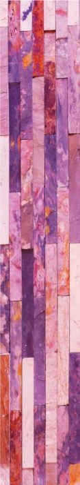 TenStickers. Carta da parati effetto mattoni Trama di mattoni rosa. Bellissima carta da parati con trama di mattoni rosa per decorare la tua casa con un aspetto adorabile. Ameresti questo design e l'attenzione di lusso che creerebbe