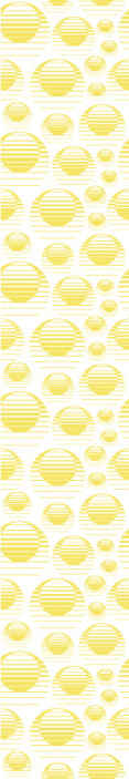 TenStickers. Retro sun draw yellow circles cool abstract wallpaper. Best quality wallpaper with retro sun and abstract circles design. Nice for a living room, bedroom and any other space you would prefer.