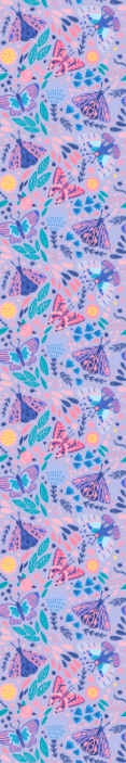 TenStickers. Butterflies wallpaper in pink tones Bedroom Wallpaper. Give your children a better playing environment today with this beautiful butterfly children wallpaper today! Decorate your house with ease now!