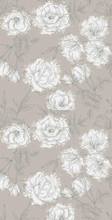 TenStickers. papel de parede flores Papel de parede de peônia estilo vintage. Nós, da tenstickers, iremos nos certificar de que podemos dar a você a melhor experiência de papel de parede de peônia que você verá com este produtoincrível! Entrega ao domicílio!