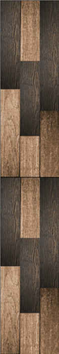 TenStickers. The smell of wood Textured Wallpaper. Vintage wallpaper with a texture imitating wood in dark brown tones designed with a more rustic and classic decoration in your living room.