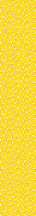 TenStickers. Tapeta w jadalni Pomarańczowy wzór. Kolorowa tapeta z motywem pomarańczy, która wypełni twoją kuchnię, jadalnię lub każdą przestrzeń. Orzeźwiajaca i świeża! Dostawa do domu.