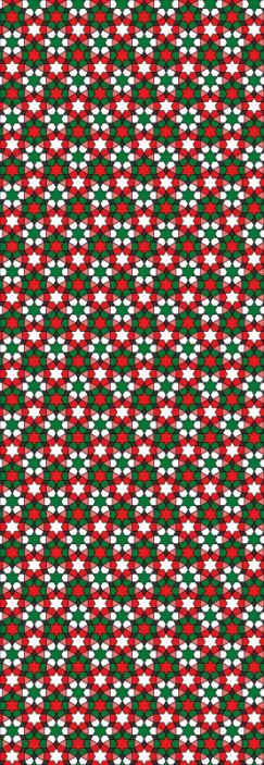 TenStickers. Papier peint carreaux sticker d'étoiles arabes. Un papier peint à carreaux sticker étoiles arabes pour apporter un look étonnant à votre espace.. Un papier peint original et anti-froissement.