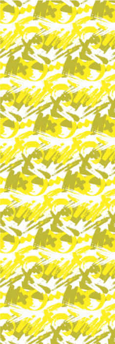 TenStickers. Papier peint moderne Mondern pinceaux jaune. Obtenez ce pinceau moderne étonnant en papier peint de luxe jaune dans votre maison! N'attendez plus et commandez votre papier peint maintenant!