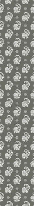 TenStickers. Vintage elephants orient Kids Wallpaper. Vintage elephants orient children wallpaper - The background it designed in dark grey and it would leave a lovely look on a space installed on.
