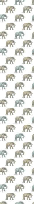 TenStickers. Carta da parati cameretta Elefanti animali realistici. Immagina, entri nella camera da letto del tuo bambino e lo vedi dormire con gli elefanti. Sembra così adorabile! Ordina oggi la tua carta da parati!
