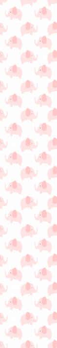 TenStickers. Behang kinderkamer Schattige roze olifanten. Houden jij of uw kinderen van olifanten? Dan is dit het schattige grijze olifant babykamer behang dat u nodig hebt! Bestel vandaag!