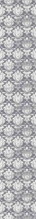 TenStickers. Papier peint graphique Fleurs grises glamour. égayer votre pièce avec cette incroyable conception de papier peint de luxe à fleurs grises glamour. N'attendez plus et commandez le  aujourd'hui!