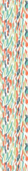 TenStickers. Parati moderni Macchie di arte moderna. Carta da parati artistica con illustrazioni di molti colori che riempiranno di gioia e coloreranno la decorazione e le pareti della tua casa.