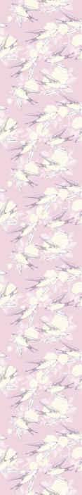TenStickers. 小粉红鸟复古风格酷动物壁纸. 小小的粉红色小鸟复古风格壁纸-非常漂亮的壁纸可以覆盖任何墙壁空间,它可以是您的孩子卧室壁纸,客厅壁纸。