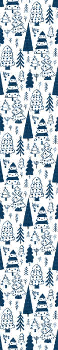 TenStickers. Modern Christmas trees Xmas wallpaper. Decorate any space for Christmas with this modern trees Christmas wallpaper design. This can be applied on bedroom, living room, office, etc.