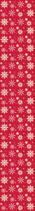 TenVinilo. Papel pintado para salón Copos de nieve. Papel pared de navidad de fondo rojo con diseño de copos de nieve. El producto es realmente fácil y sencillo de instalar, es original y duradero.