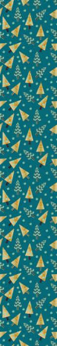 TenVinilo. Papel pintado para salón Arboles de navidad . Papel pared geométrico de árboles de navidad: papel pared encantador para crear la presencia de la navidad en cualquier lugar. Fácil de instalar.