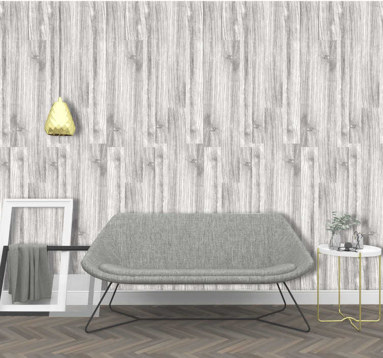 TenStickers. Striped Wallpaper Praise of the Tradition. Grey and white wallpaper will help you to create a cosy and lovely atmosphere in your home that you always wanted. Order it now and renovate the home.
