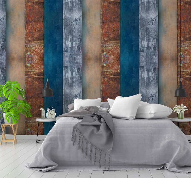 TenStickers. Winter Landscape Textured Wallpaper. If you are looking for a way to give your home a new life, look no further, this fantastic textured wallpaper is what you are looking for!