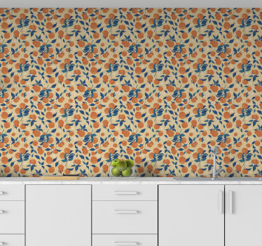 Kitchen vinyl wallpaper is a very practical choice that will allow you create happy and positive vibe in this very important room. Order it online!