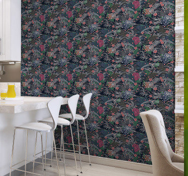 Kitchen wallpaper is a perfect way to decorate this important place in your home. It is made out of high quality material that proved to be durable.