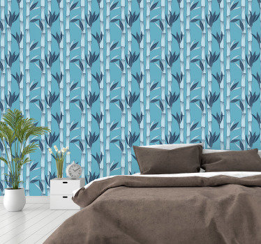 This pattern wallpaper is a perfect decoration to your bedroom or a living room. In a stylish way you can upgrade the look of your rooms.