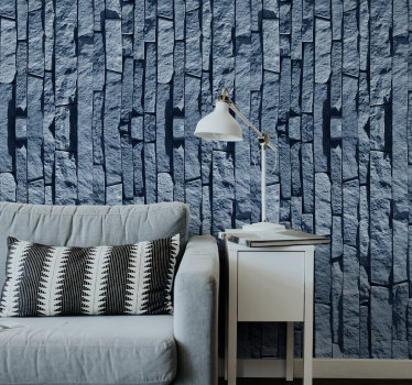 This stone wallpaper is one of the best things you can buy redecorate your flat in a cheap and effective way. Trust in the high quality material.