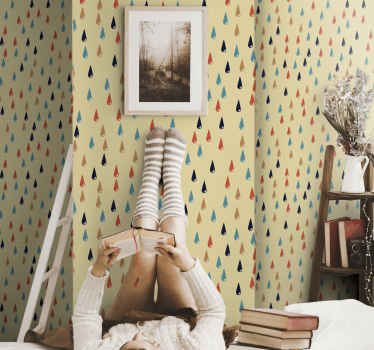 If you are looking for a colorful and beautiful way to decorate your children's room, then this children's room wallpaper  is perfect for you.