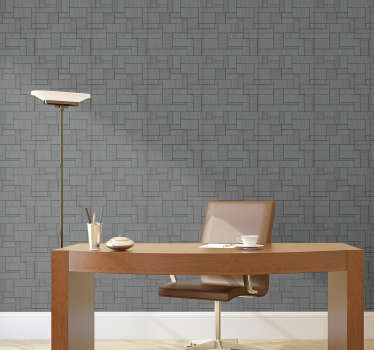 This grey textured wallpaper perfect for your office, which will allow you to have an elegant and modern space without having to spend a lot of money.