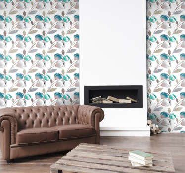 Give your favorite spaces a new look by decorating the walls of your home with this sublime floral wallpaper. Discounts available.