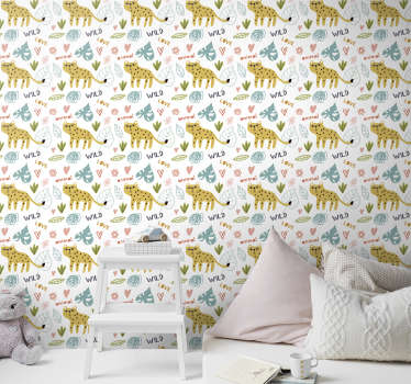 Create a neat atmosphere full of joy and smiles with this childrens room wallpaper. High quality material and matte finishing.