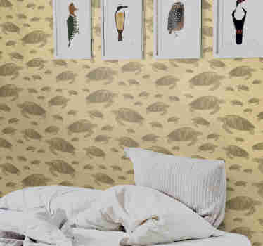 If you're looking for an original way to decor your walls without having to spend a lot of money, then this animal wallpaper is exactly what you need.