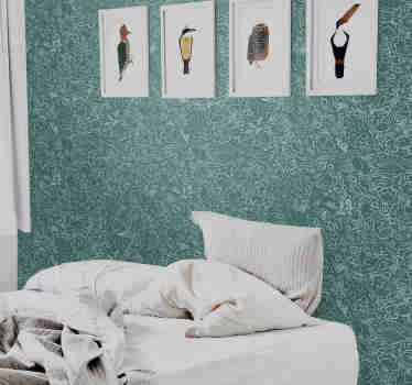If you're a true sea lover, then this animal wallpaper with a pattern of hand drawn sea animals is the perfect decoration for your home.