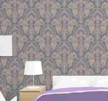 Give a vintage and classic touch to your room without having to spend a lot of money, this baroque wallpaper. Sign up for 10% off.