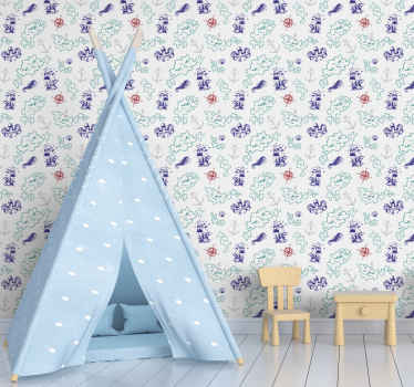 Improve the bedroom space of your kid with lovely and admirable touch in our children treasure map wallpaper design. It is made of high quality.
