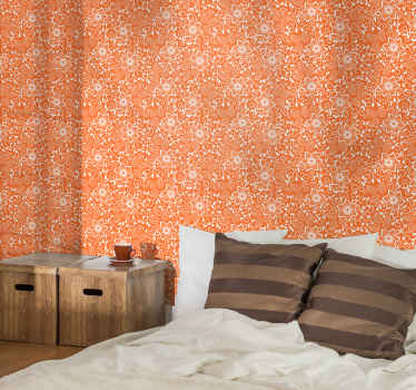 A just perfect room wallpaper to bring colour and bright energy to a bedroom space. It is made with the best of quality material.