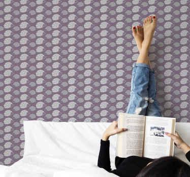 Fantástico y hermoso diseño de papel pared infantil con dibujo de erizos simple e ideal para decorar el cuarto de tu hija ¡Envío a domicilio!