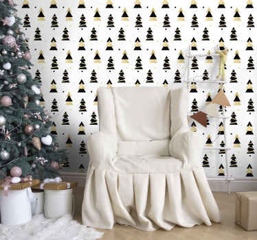 Searching for an amazing Christmas home decoration? Here is a featured  ornamental Christmas tree wallpaper design for you.