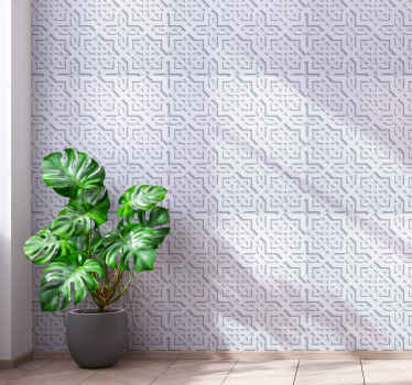 Compliment your space with this original Moroccan brick wallpaper designmade with high quality material. It is easy to apply and removable  anytime.