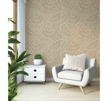 Add a classic and sophisticated look on your room space with this original 3D patterned vintage wallpaper. It is original and easy to apply.