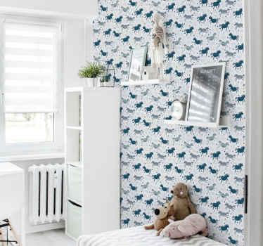 Un incroyable décor d'imprimés animaliers pour décorer la chambre d'un bébé. Les enfants adorent les jolis animaux et ce serait une excellente idée pour décorer la maison.