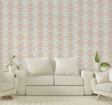 When you have amazing patterned wallpaper on your wall, you dont have to worry about more decorative elements on the space. Easy to apply and durable.