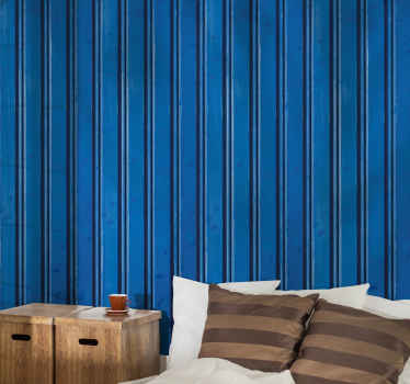 Simple vertical dark blue stripe wallpaper to decorate any space of your choice. Easy to apply  stripe wallpaper for kids bedroom and other space.