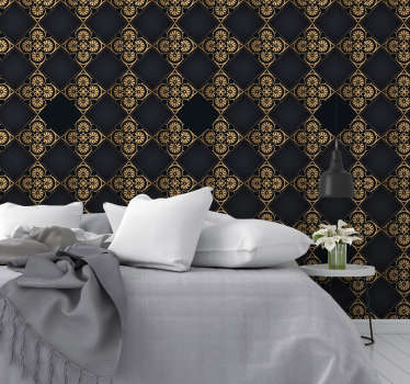 This luxury wallpaper will make your rooms look fancy and spectacular. This is a stylish solution for every room, especially living and dining room.