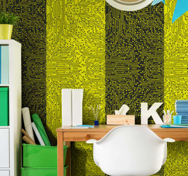 Unusual and very original design of an abstract wallpaper is everything you need in your house to make it a place everyone loves.