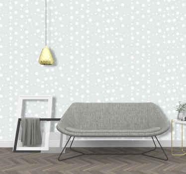 Diese elegante Tapete mit Kreismuster ist eine perfekte Dekoration für Kinderzimmer, Teenager-Schlafzimmer oder auch für Ihr Zimmer. Jetzt bestellen!
