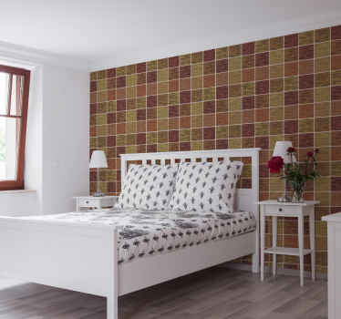 Bring some live to any room in your house with this multicolor brick effect texture wallpaper. It is original, durable and easy to apply.