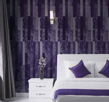 Looking for a luxury wallpaper design to wrap up the wall space in your home decoration?.  This purple brick texture wallpaper would do the magic.