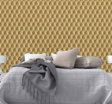 3D squares vinyl wallpaper for living room. It can also be applied on a bedroom space and other areas in a house. Easy to apply and original.